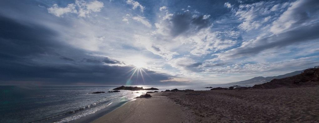Malaga's beach